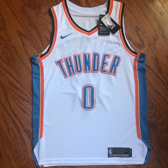 premium selection 30395 ffba6 NWT OKC Thunder Russell Westbrook Nike Jersey NWT